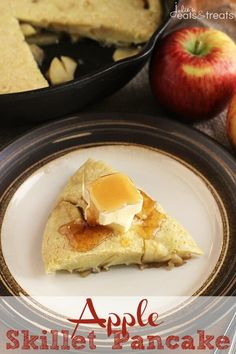 Apple Skillet Pancake - Julie's Eats & Treats