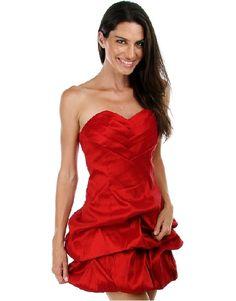 Red Strapless #dress  #homecoming  #bridesmaid #datenight #dance