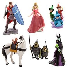 Disney Aurora Figure Play Set | Disney StoreAurora Figure Play Set - Her imagination will be sparked happily ever after with this Aurora Figure Play Set. The colorful cast of characters includes Sleeping Beauty, Prince Phillip, and Maleficent, so she can bring the animated classic to life.
