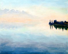 Lake Leman, View from Montreux, Albert Marquet, 1937