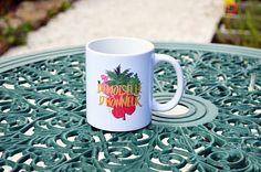 Le mug/Tasse Demoiselle d'honneur esprit tropical mariage
