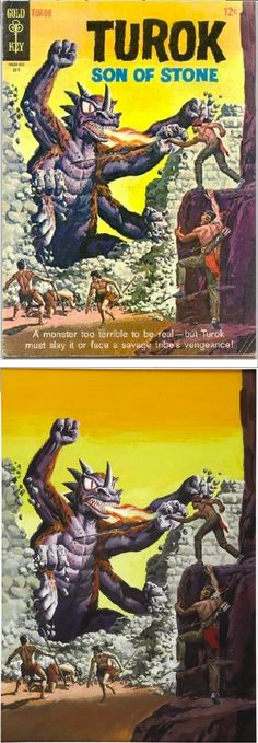 10 Best Turok Son Of Stone Images Comics Classic Comics Comic Books Art