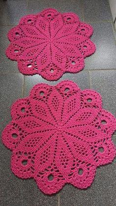 Flower crochet doilies, Crochet placemats, Cotton beige doilies, Thanksgiving gift idea - Her Crochet Free Crochet Doily Patterns, Crochet Coaster Pattern, Crochet Placemats, Crochet Motif, Hand Crochet, Free Pattern, Crochet Stone, Love Crochet, Crochet Dollies