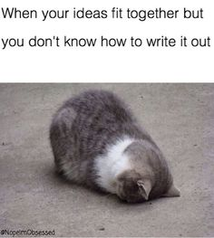 I am in this situation these days because I have to write a summary of a book and I don't know how to express my thoughts.Anyway...I think that if I try I can do ☺