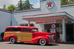woody 1937 Pontiac Phantom Custom