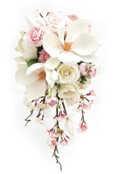 Trail bouquet by Loveflowers. Find your perfect wedding flowers at www.loveflowers.com.au