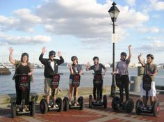 Segway tour in Baltimore, Maryland. #segway