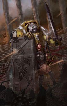 Imperial Fist and Chem Dog Revamp, Matthew McEntire Warhammer 40k Memes, Warhammer Models, Warhammer Art, Warhammer 40k Miniatures, Warhammer Fantasy, Warhammer 40000, Warhammer Imperial Guard, 40k Imperial Guard, Imperial Fist