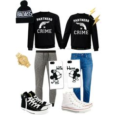 A fashion look from January 2015 featuring Paige Denim jeans, Converse sneakers and Nixon watches. Browse and shop related looks.