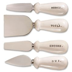 French Cheese Knife Set