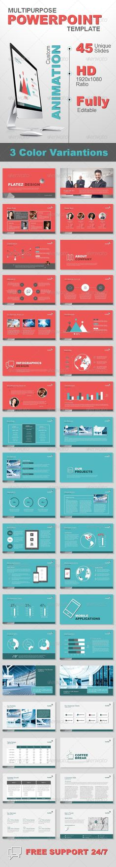 Rework PowerPoint Presentation Template Powerpoint presentation - business case templates free