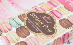TOO FACED| SUGAR POP PALETTE See more: www.lilimakes.com