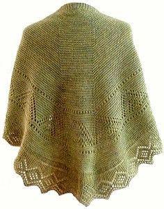 Free Faroese shawl patterns...