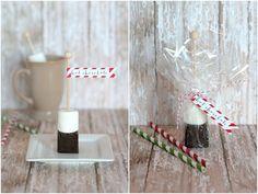 Hot Chocolate on a Stick = Yum!