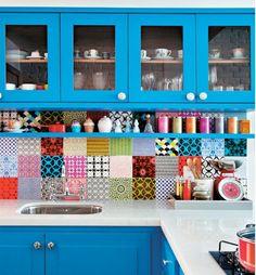 mutfak dekorasyon fikirleri Casa Abril