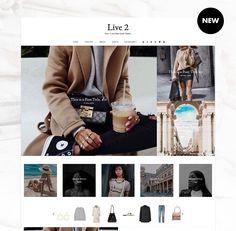 Live2 - Blogger Template Responsive Design Custom Blogger Design Responsive Blogger Template Blogger theme blogspot Template   #etsy #etsyshop #themes #templates #youtube #fashiontrends  #pinterest #fashionblogger #fashion #fashionblog #outfits #etsyseller #etsygifts #blogging #bloggingforbeginners #bloggingtips #blogger #blog #lookbook #pinteresttips #startablog