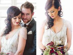 Vintage Gatsby Inspired Wedding Dresses - Wedding Party