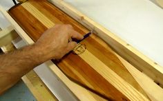 Carving canoe paddles on the bandsaw