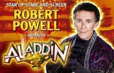 Malvern Theatres » Aladdin – Starring Robert Powell