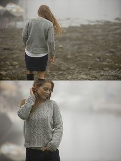 Swans Island released a little pattern collection a few weeks ago called The All American Collection, and I can't get this Bristol Ivy pattern, Offshore, off my mind. Slouchy and unisex, it h…