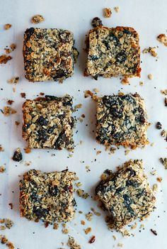 chewy black mission fig granola bars + healthier kids // brooklyn supper #sponsored