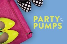 Find fun party pumps and wedges for the holiday season!