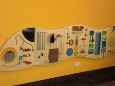 New fun wall for kids in Youth Services.