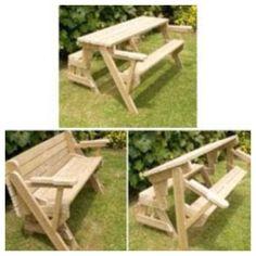 banco vira mesa picnic churrasco banco banco vira mesa picnic  #9C7830 1200x1200