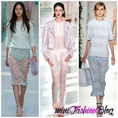 Transparent Fashion of 2014 / Spring-Summer Trends