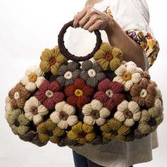 crocheted flower purse | SALE crochet flower purse