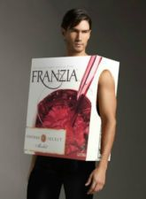 Wine Friday Fun - Is this guy really wearing a box of Franzia wine? Or is it just a costume?