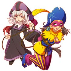 Frollo and Clopin female version
