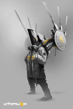 Concept robots by Daniel Hahn
