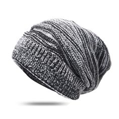 64b9623d2e7  13.04 - Warm Knitted Skullies Bonnet Cap (Buy this item for FREE SHIPPING)  Women
