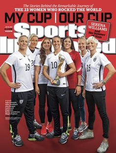 Pin for Later: In an Unprecedented Move, Every Member of the USWNT Is Getting Her Own Sports Illustrated Cover  See the remaining 22 covers here.