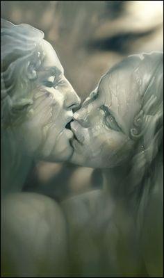 sculpted kiss ; ) (Cyssan)