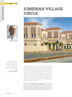 JUMEIRAH VILLAGE CIRCLE