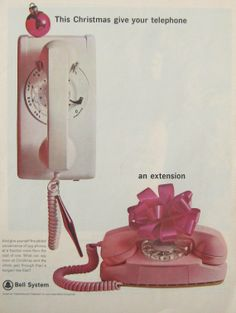 1960's Princess Phone Ad