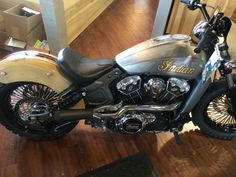 Modern Indian Scout custom