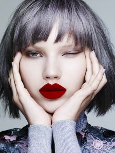 Anabel Krasnotsvetova by Ben Hassett for Teen Vogue September 2015 Fashion Editor: Zara Zachrisson Hair: Tamara Mcnaughton Makeup: Lisa Eldridge
