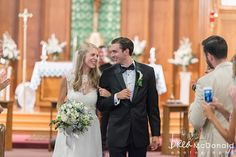 Classic New England wedding style in Milton, Massachusetts with wedding photographer Brea McDonald Photography. Church ceremony in Quincy, Massachusetts with wedding reception to follow at the Hoosic Club in Milton, MA.