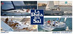 www.papilloncharter.com, alquiler veleros ibiza, alquiler catamaranes #ibiza RUTA DE LA SAL
