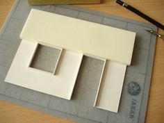 making walls - part 1 with foam and card board