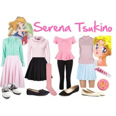 """""""serena tsukino outfits part 3"""" on Polyvore"""