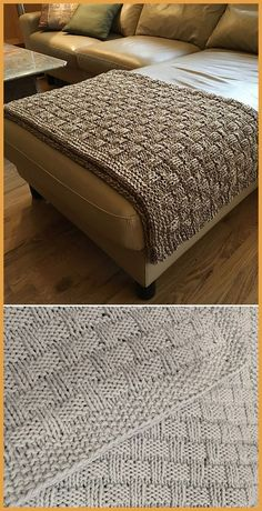 Easy Tweed Blanket - Free Pattern Free Knitting Pattern Knitting , lace processing is just about the most beautiful hobbies that females will not give up. Knitting Blogs, Loom Knitting, Knitting Patterns Free, Free Knitting, Knitting Projects, Free Pattern, Crochet Patterns, Crochet Tutorials, Knitting Ideas