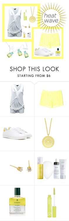 """How To Dress For A Heat Wave"" by freida-adams ❤ liked on Polyvore featuring Burberry, J.Crew, Anya Hindmarch, Julep, Rene Furterer, NYX, topsets, polyvorecommunity, heatwave and polyvorecontest"