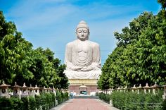 Bodhgaya, India  It is famous as the place where Gautama Buddha is said to have obtained Enlightenment.