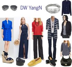 5 Second Polyvore: Dark Winter Yang Natural
