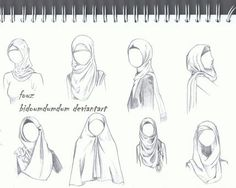 Hijab Sketch