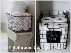 43 ideas of small affordable storage for the apartment! - Ideas of small cheap storage for the apartment Informations About 43 idées de petit rangement abord - Affordable Storage, Cheap Storage, Small Storage, Diy Storage, Storage Spaces, Storage Ideas, Storage Boxes, Diy Bathroom Decor, Bathroom Storage